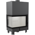 Teplovodní krbová vložka MBA L BS TV 17 kW levé boční prosklení s tepl. výměníkem DOPRAVA A KOUŘOVO