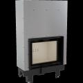 Teplovodní krbová vložka MBZ G TV 13 kW rovné prosklení s tepl. výměníkem, gilotina DOPRAVA A KOUŘOV