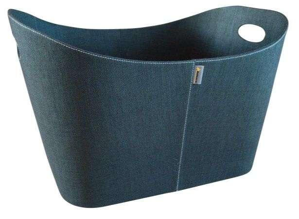 Aduro koš Baseline 3 černá jeans látka - DOPRAVA ZDARMA