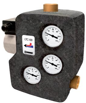 """ESBE LTC 261 regulační jednotka obsahující plnící ventil RP 1"""", DN=25mm, T=55°C"""