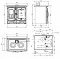Sporák s výměníkem a ochlazovací smyčkou D.S.A. TermoSuprema Compact DOPRAVA A KOUŘOVODY ZDARMA La Nordica