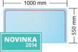 Sklo Sofie 1000x550 mm