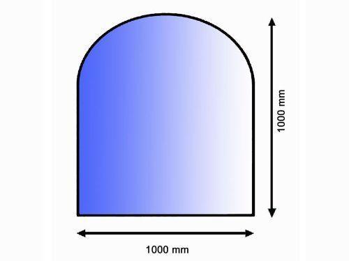 Lienbacher sklo podl. pod kamna, půloblouk 8 mm