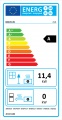 KRATKI 12 ALA rovné sklo AL 12 litinová krbová vložka - Doprava a podstavec ZDARMA
