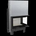 Kratki teplovzdušná krbová vložka MBM P BS G SG 10 kW pravé prosklení gilotina - DOPRAVA A ...