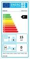 Kratki teplovzdušná krbová vložka MBO P BS G 15 kW pravé boční prosklení gilotina doprava a kouřovody zdarma