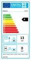 Kratki Teplovzdušná krbová vložka MBZ 13 kW rovné sklo doprava a kouřovody zdarma