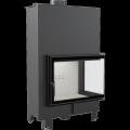 Teplovodní krbová vložka MBA P BS TV 17 kW pravé boční prosklení s tepl. výměníkem DOPRAVA A KOUŘOVO
