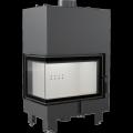 Teplovodní krbová vložka MBM L BS TV 10 kW levé boční prosklení s tepl. výměníkem DOPRAVA A KOUŘOVOD