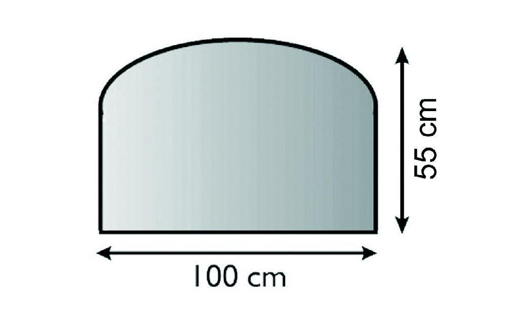 Lienbacher 21.02.872.2 sklo před kamna, 6 mm