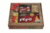 PE-PO dárkové balení – podpalovače, kominíček, zápalky
