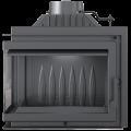 Kratki litinová teplovzdušná krbová vložka SIMPLE M/S 8 BS levé boční prosklení