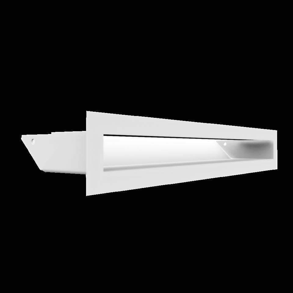 KRATKI mřížka LUFT 6X40 cm bílá