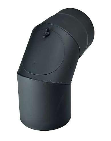 Kouřovod koleno čistící 90°, Ø 125 mm Kraus