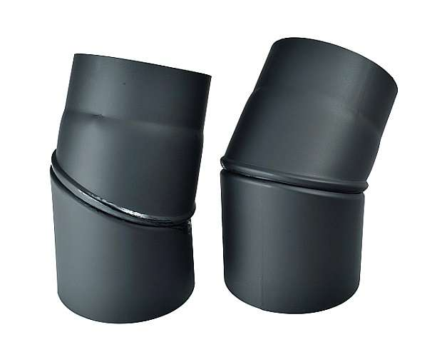 Kouřovod koleno stavitelné 0°- 45°, Ø 160 mm Kraus