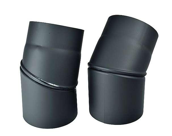 Kouřovod koleno stavitelné 0°- 45°, Ø 130 mm Kraus