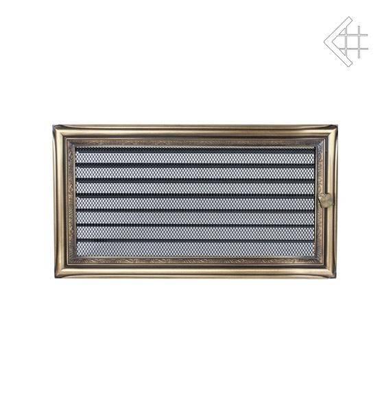 Ventilační mřížka 17x30 rustikální s žaluzií - KRATKI