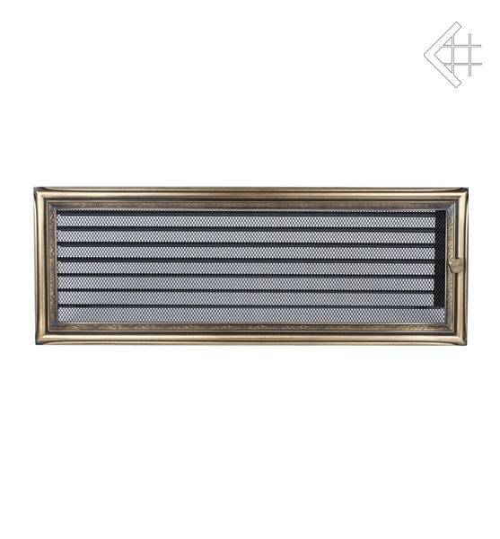 Ventilační mřížka 17x49 rustikální s žaluzií - KRATKI
